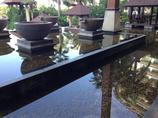 Ocean Sonic Resort: Still and calm mornings