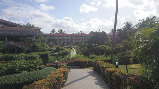 Viva Wyndham Dominicus Palace: Los hermosos jardines