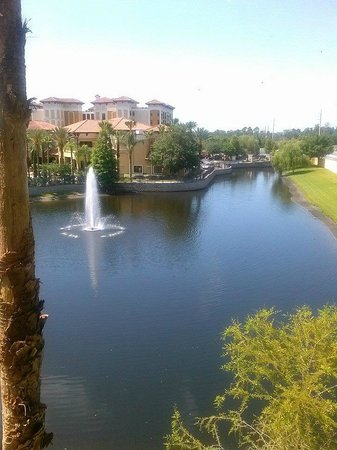 Floridays Resort: view from balcony
