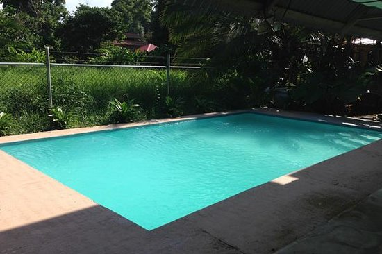Be My Guest Cabinas: lower ppool view