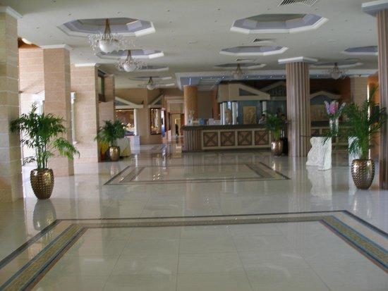 Atrium Palace Thalasso Spa Resort & Villas: main reception area-check in