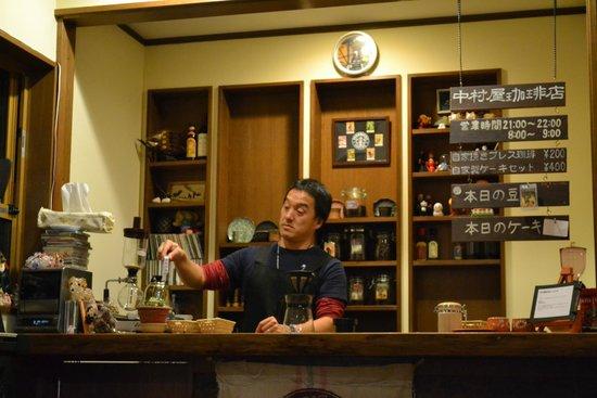 Miyukinomori Youth Hostel : コーヒータイム
