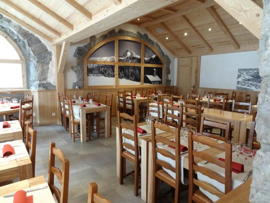 Hotel La Pointe Percée : restaurant