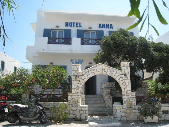 Anna Platanou Hotel: Hotel