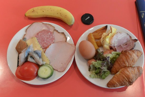 Days Hotel Riga VEF: 私の食べた朝食の写真です。