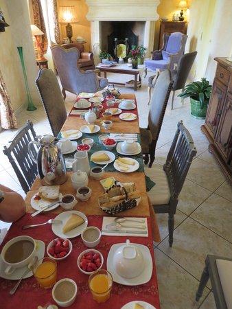Le Petit Versailles : Le petit déjeuner