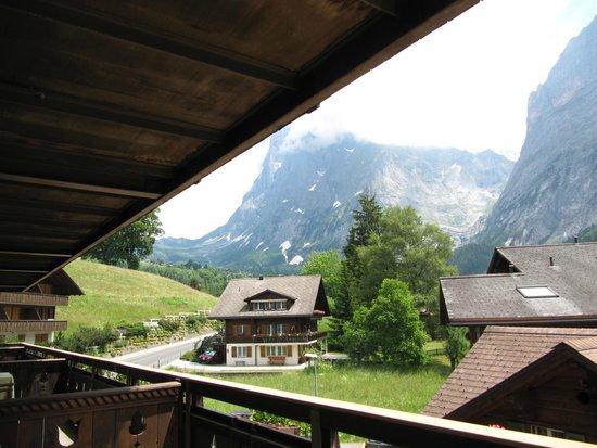 Hotel Gletschergarten : View from our balcony