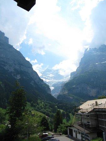 Hotel Gletschergarten: View from our balcony