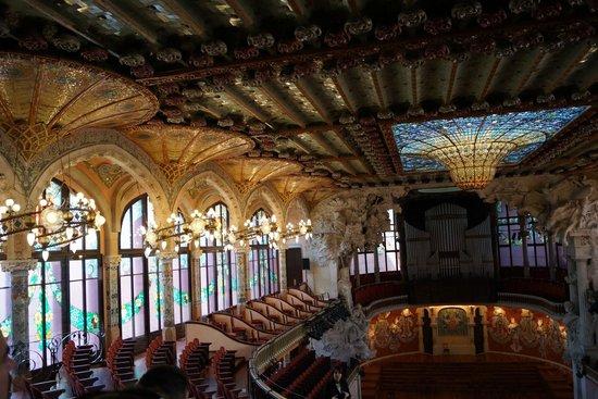 Palau de la Musica Orfeo Catala: O prédio magnifíco