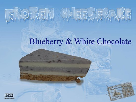 Infusion Restaurante: Blueberry & White Chocolate