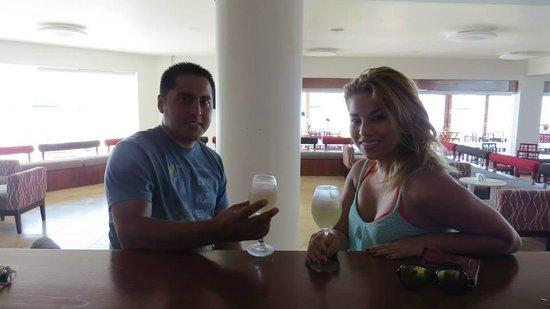 San Agustín Paracas: Excelente cóctel de bienvenida