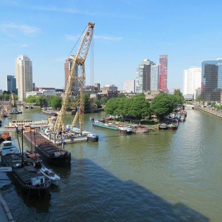 Inntel Hotels Rotterdam Centre: Uitzicht op de 7e verdieping