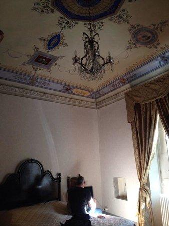 Locanda San Marco - Palazzo Caluri : Il soffitto