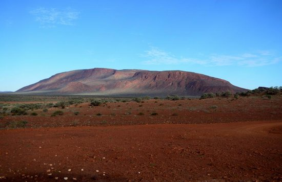 Meekatharra, Australien: Mt Augustus from Emu Hill Lookout