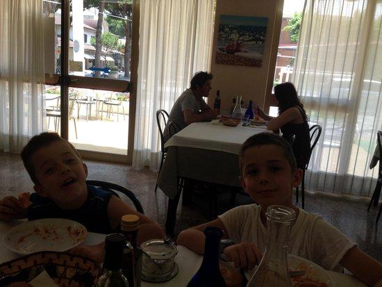 Franca hotel: Pranzo
