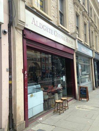 Qbic Hotel London City : Aldgate Caffee House