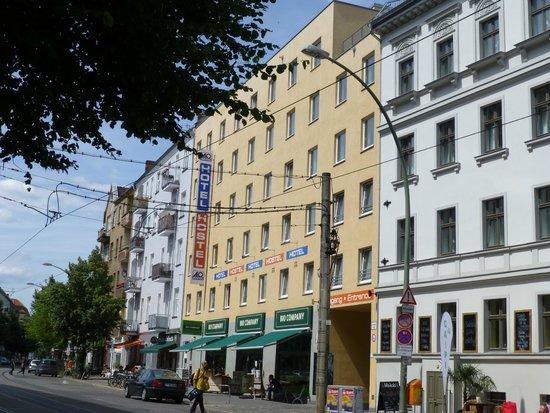 A & O Hotel & Hostel Friedrichshain: Außen