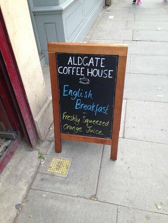 Qbic Hotel London City : Aldgate Coffee House