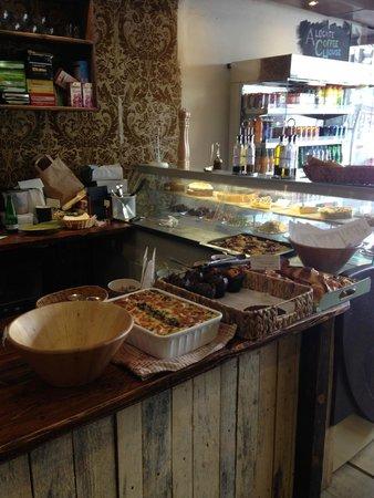 Qbic Hotel London City : Interno Aldgate Caffee House