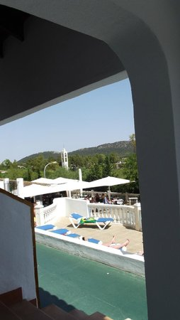 Aparthotel Holiday Center: view from ground floor