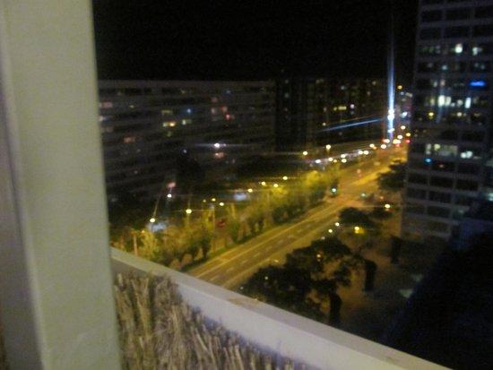 Expo Hotel Barcelona: View from balcony