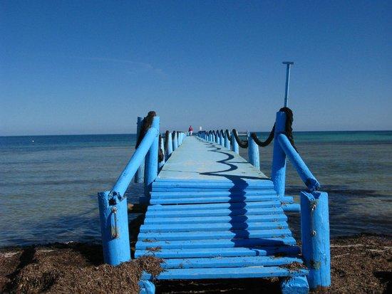 Odyssee Resort & Thalasso : Le ponton de plage 2