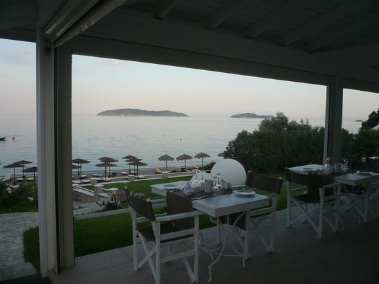 Kassandra Bay Resort & SPA: View from the A La Carte resturant