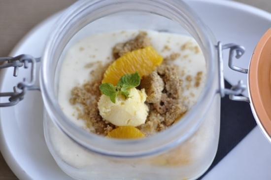 Restaurant Turandot: turandot cheesecake - reinvented.