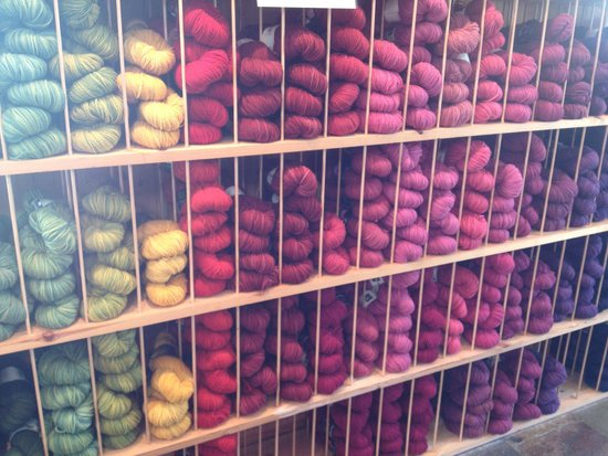 Waternish, UK: the yarns -  this doesn't do them justice!