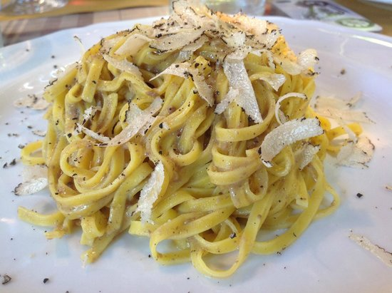 Al Vecchio Forno : тальятелле с трюфелем