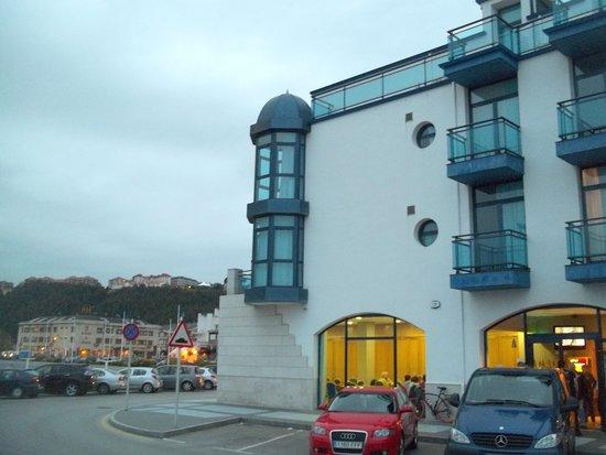 Hotel Soraya: vue coté village