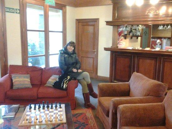 Hotel Kosten Aike: lobby del hotel, hermoso