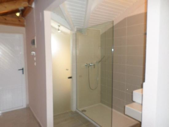 Plessas Palace Hotel : Shower, room 304
