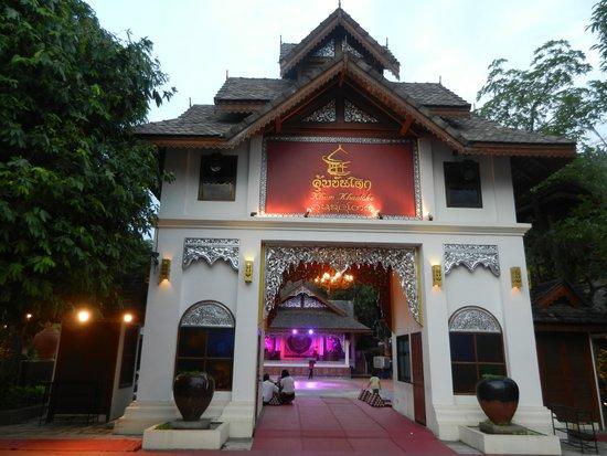 Khum Khantoke Chiangmai: Vue extérieure