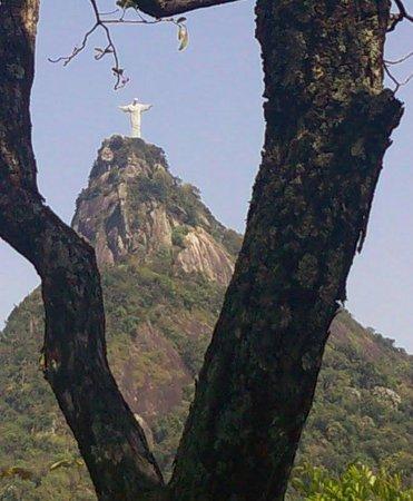 Statue du Christ Rédempteur : Vista a partir do Parque Nacional da Tijuca