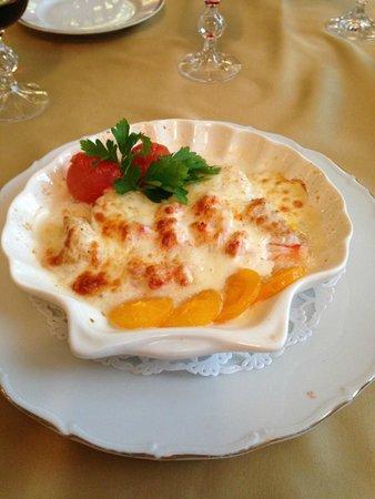 Parus: hot seafood appetizer