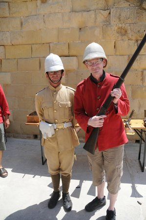Fort Rinella: Get a chance to fire a rifle with the delightful Antoine