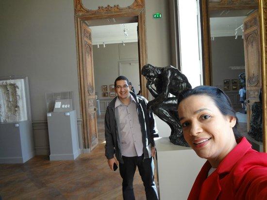 Musée Rodin : Eu e minha querida esposa