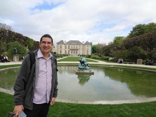 Musée Rodin : Parte de trás. Jardim do museu