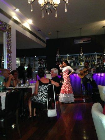 Restaurante Vino Mio: The flamenco dance show 2
