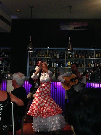 Restaurante Vino Mio: The flamenco dance show 3