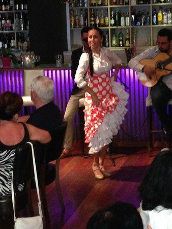 Restaurante Vino Mio: The flamenco dance show 1