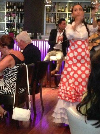 Restaurante Vino Mio: The flamenco dance show 4