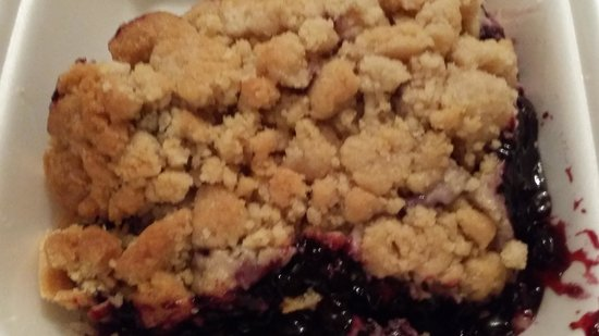 the blueberry crumbs - Picture of Rockaberry, Montreal - TripAdvisor