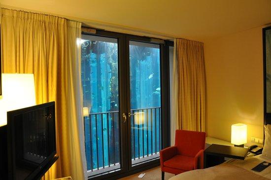 Radisson Blu Hotel, Berlin: vue depuis la chambre