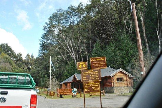 Cerro Tronador: La entrada al parque, informes.