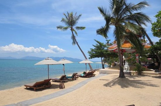 Fair House Villas & Spa: peacefull beach