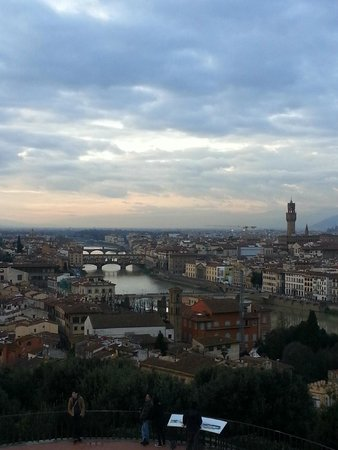 Piazzale Michelangelo: The Arno is Amazing