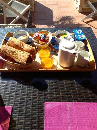 Hotel de la Plage : Frühstück