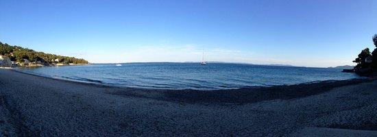Hotel de la Plage : plage fin d´ apres-midi